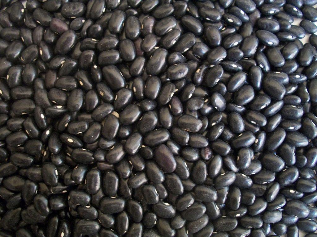 black beans bohnen